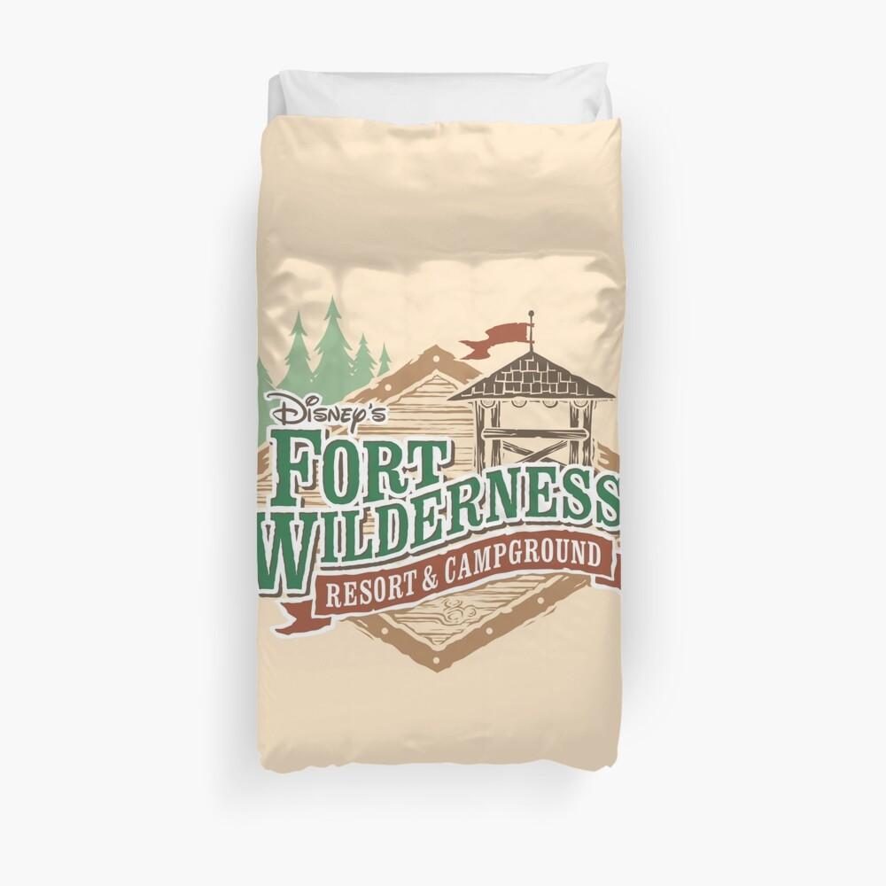 Fort Wilderness Duvet Cover
