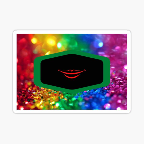 Smile poster Sticker