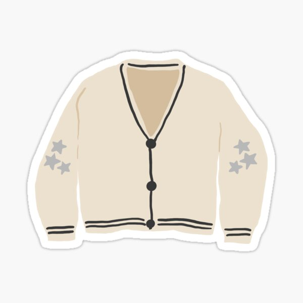 Cardigan Sticker