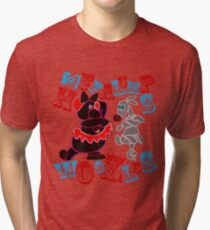 Heffalumps and Woozles Tri-blend T-Shirt