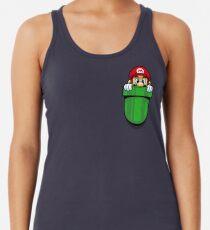 Camiseta con espalda nadadora Plomero de bolsillo