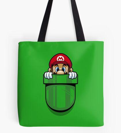 Pocket Plumber Tote Bag