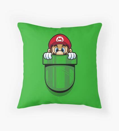 Pocket Plumber Throw Pillow