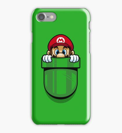 Pocket Plumber iPhone Case/Skin