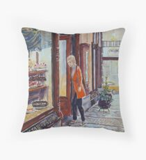 Hopetoun Tea Rooms, Block Arcade, Melbourne 2 Throw Pillow