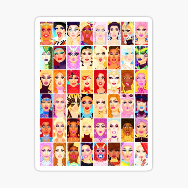 DRAG QUEEN ROYALTY Sticker