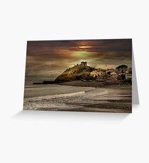 Criccieth Castle Greeting Card