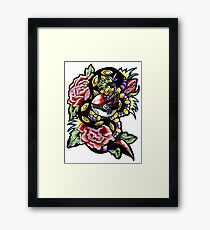 Seviper-pokemon tattoo collaboration Framed Print