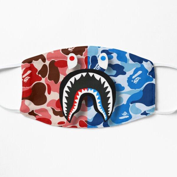 Red & Blue Bape Shark Mask