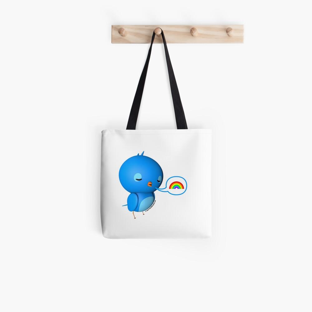 B.B. Bottoms - rainbow! Tote Bag