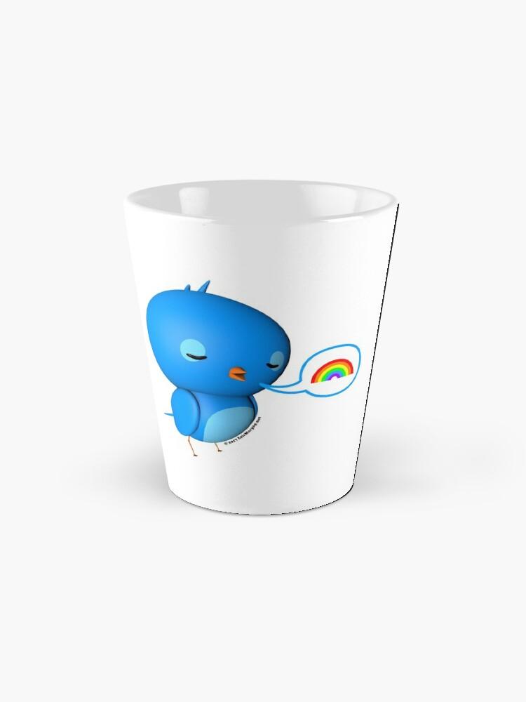 Alternate view of B.B. Bottoms - rainbow! Mug