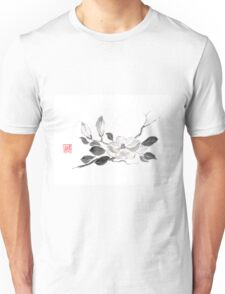 White queen sumi-e painting Unisex T-Shirt