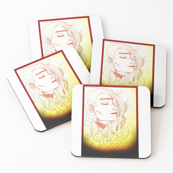 Sunny Rey 001 (in transition) Coasters (Set of 4)