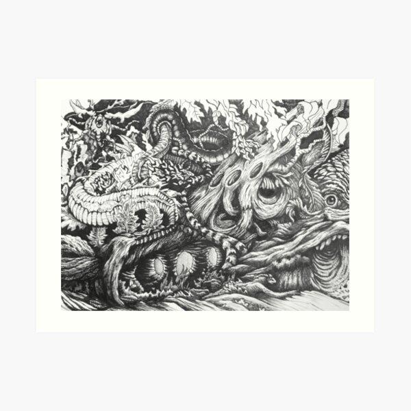 Enchanted Wood Art Print