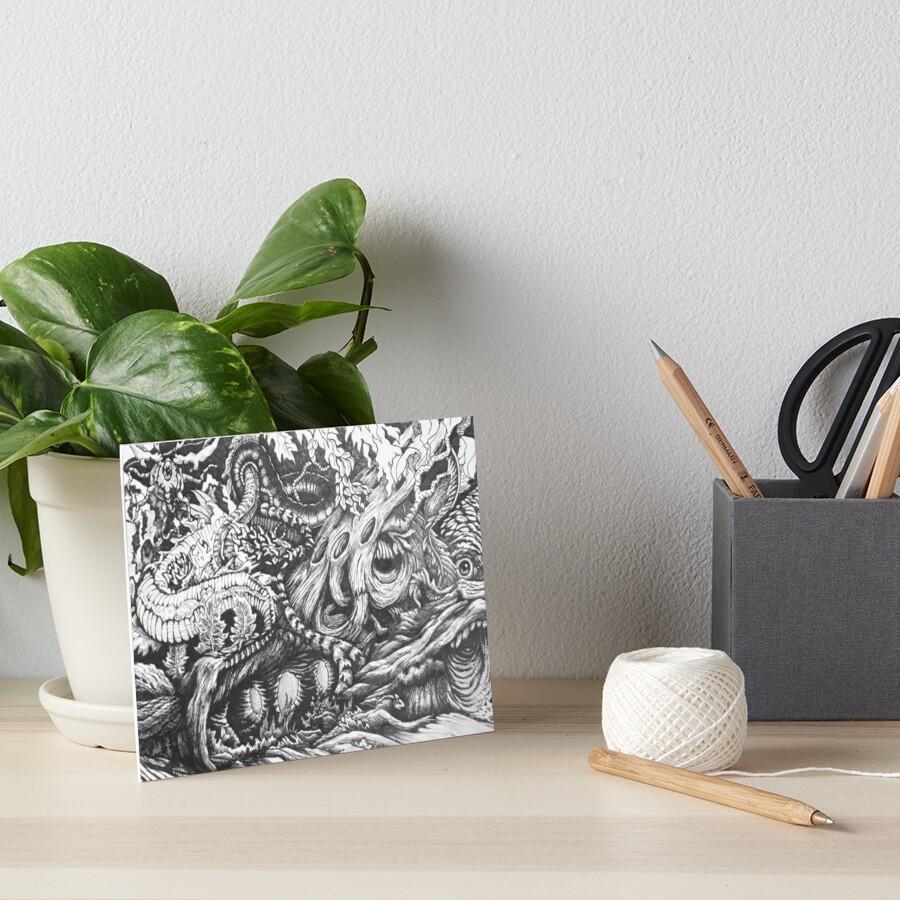 Enchanted Wood Art Board Print