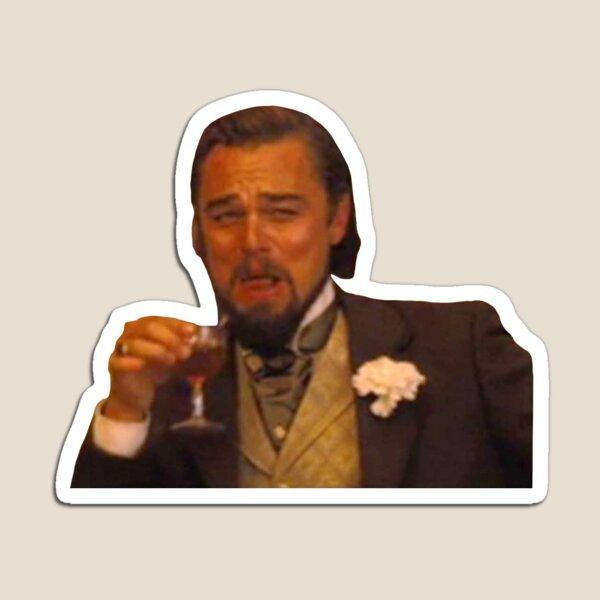 Leonardo DiCaprio Laughing Meme Magnet