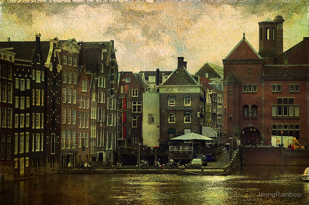 Painted Amsterdam by JennyRainbow