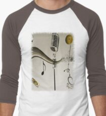 SOLD - SING ME AN OLD FASHIONED SONG! Men's Baseball ¾ T-Shirt