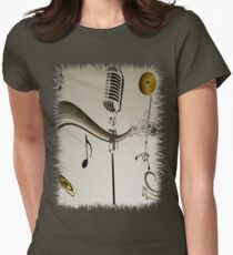 SOLD - SING ME AN OLD FASHIONED SONG! Women's Fitted T-Shirt