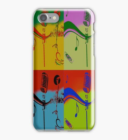SOLD - SING ME AN OLD FASHIONED SONG! iPhone Case/Skin