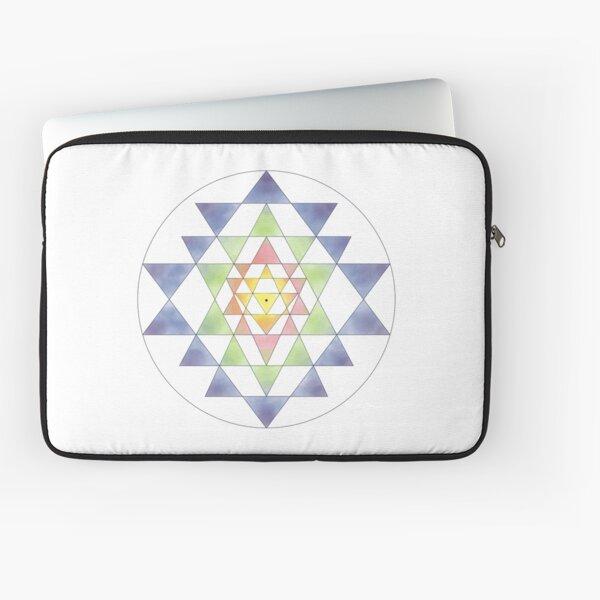 Sri Yantra 10 Laptop Sleeve