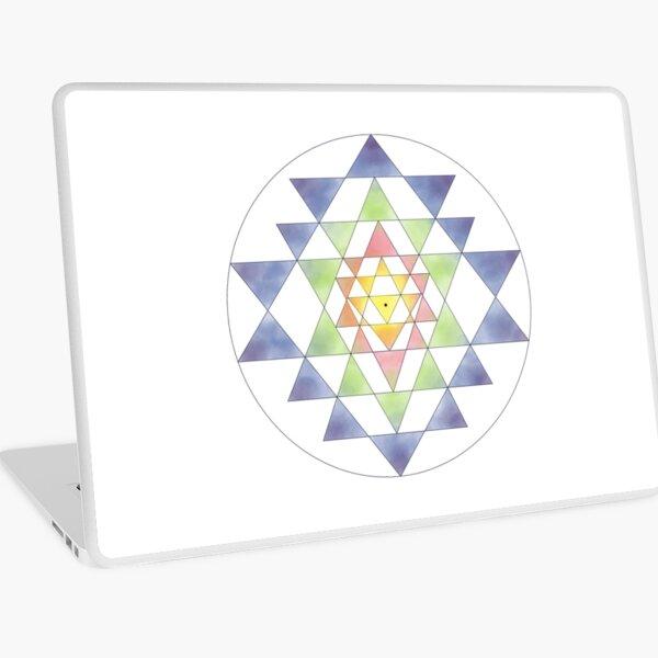 Sri Yantra 10 Laptop Skin