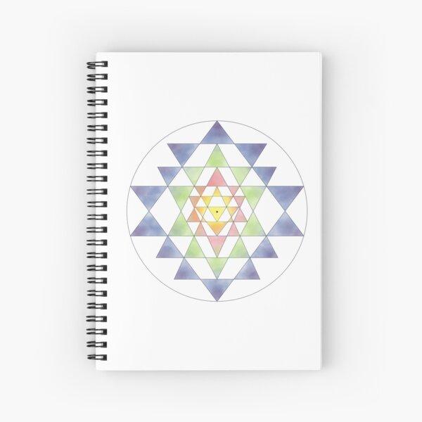 Sri Yantra 10 Spiral Notebook