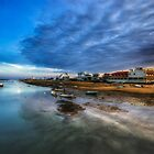 Stormy Sunset by manateevoyager