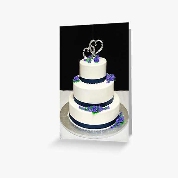 2013 Wedding Cake Anoka Minnesota Greeting Card