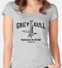The Grey Gull Women's Fitted Scoop T-Shirt