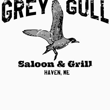 The Grey Gull by jabbtees