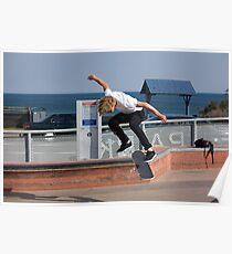 Backside Kickflip - Empire Park Skate Park Poster