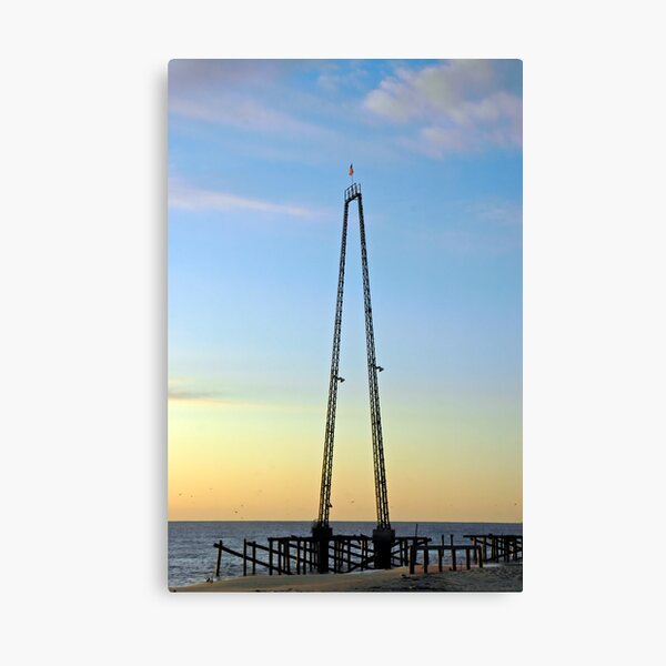 Skycoaster - Rising From the Ashes Canvas Print