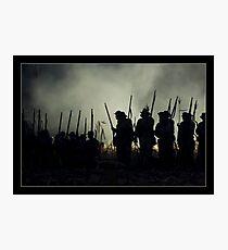 Night Battle Photographic Print