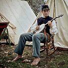 The Banjo Player by Elizabeth Heath