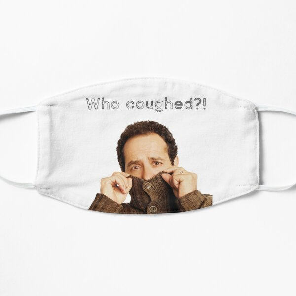 Monk: who coughed? cool t-shirts and accessories Mask