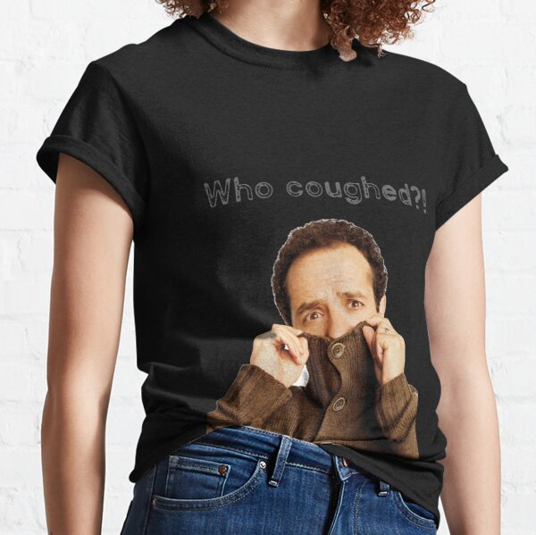 Monk: who coughed? cool t-shirts and accessories Classic T-Shirt
