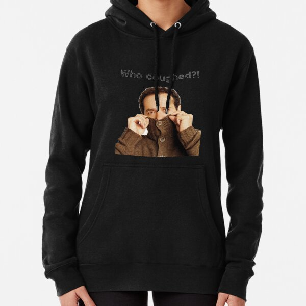 Monk: who coughed? cool t-shirts and accessories Pullover Hoodie