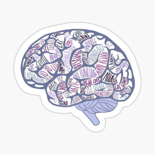 The Brain of an SLP Sticker