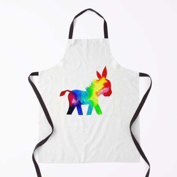 Rainbow Donkey  Apron