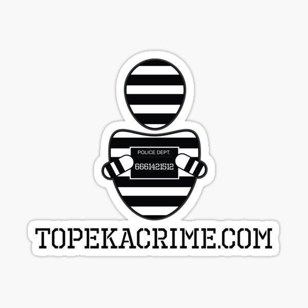 TopekaCrimeLogo Sticker