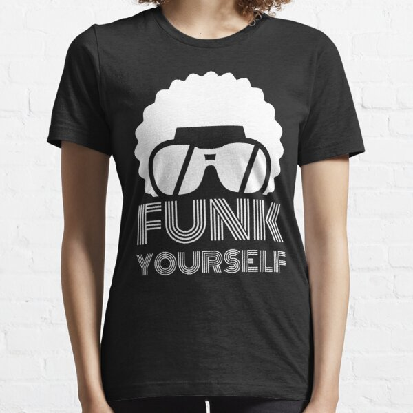 Funk Yourself White Logo Essential T-Shirt