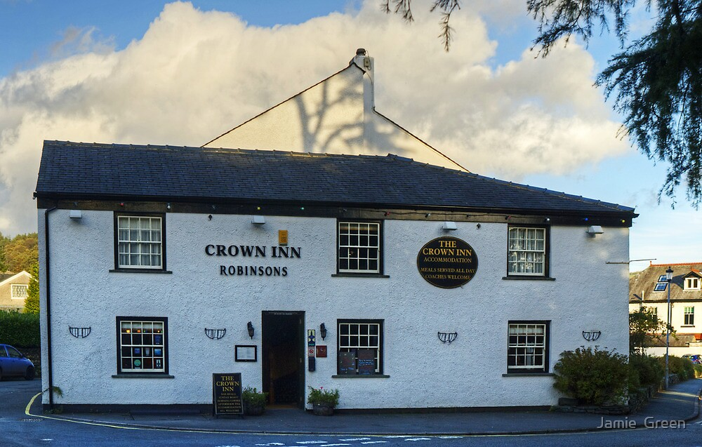 The Crown Inn,Coniston by Jamie  Green