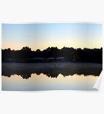 St. Johns River Sunrise Poster