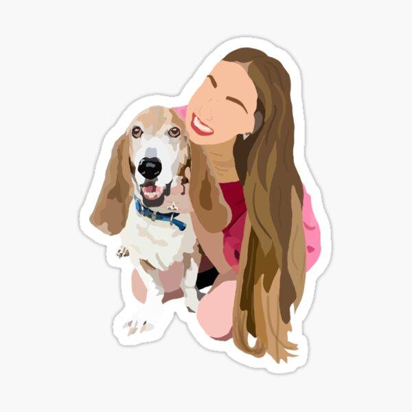 Basset Love Sticker