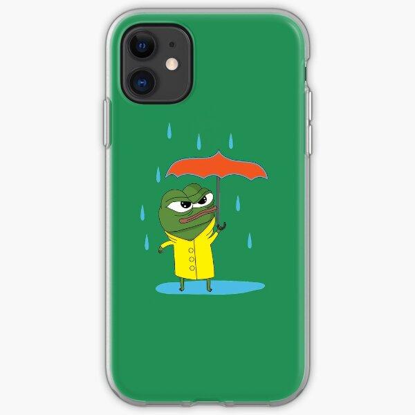 Apu in the Rain iPhone Soft Case