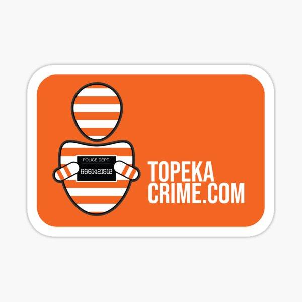 TopekaCrime Sticker Sticker