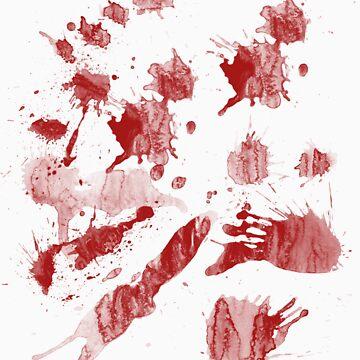 Blood Splatter by caldayjd