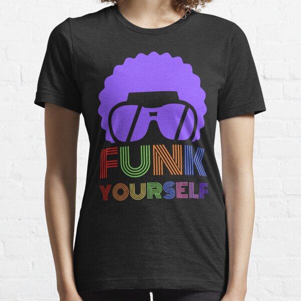 Funk Yourself Multicolour Logo Essential T-Shirt