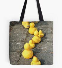 Follow the yellow Tote Bag